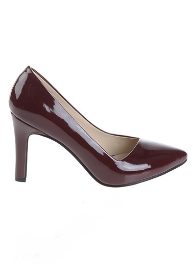 Derigo Topuklu Ayakkabı Bordo